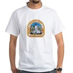 Kalawao County Sheriff White T-Shirt