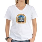 Kalawao County Sheriff Women's V-Neck T-Shirt