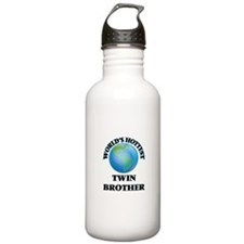 World's Hottest Twin B Water Bottle