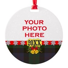 Blair Tartan Christmas Ornament