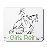 Girls Rein slide stop Mousepad