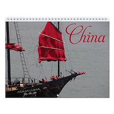 China 2 Wall Calendar