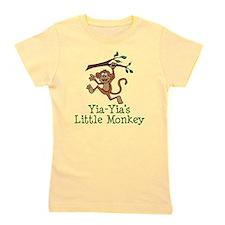 Yia-Yia's Little Monkey Girl's Tee