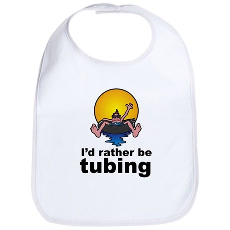 I'd Rather be tubing River Sport Bib