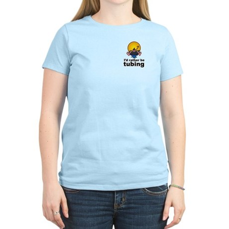 I'd Rather be tubing River Sport Women's Light T-S