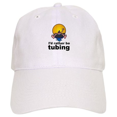 I'd Rather be tubing River Sport Cap