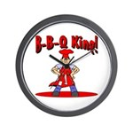 B-B-Q King Wall Clock