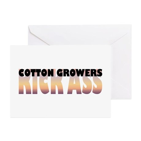 Cotton Growers Kick Ass Greeting Cards (Package of