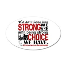 Emphysema HowStrongWeAre Wall Decal