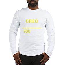Unique Oreo Long Sleeve T-Shirt