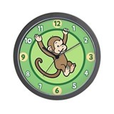 Kids monkey Basic Clocks