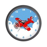 Plane Wall Clock
