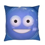 Candy Smiley - Blue Master Pillow