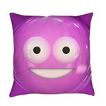 Candy Smiley - Pink Master Pillow