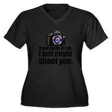 PHOTOs Plus Size T-Shirt
