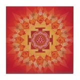 Mars Yantra Tile