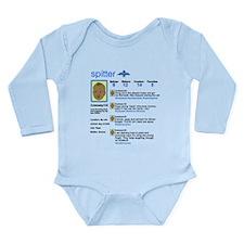 Spitter Long Sleeve Infant Bodysuit