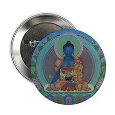 "Medicine Buddha 2.25"" Button (10 pack)"