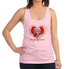 Dog is Love Racerback Tank Top