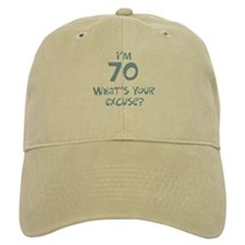 70th birthday excuse Hat