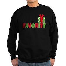 Daddy's Favorite Present Sweatshirt