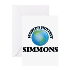 World's hottest Simmons Greeting Cards