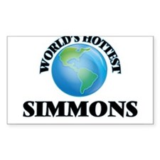 World's hottest Simmons Decal