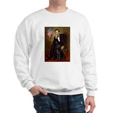 Lincoln's Black Labrador Sweatshirt