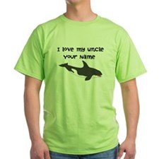 I Love My Uncle Orca Whale T-Shirt