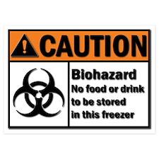 Biohazard Warning Invitations