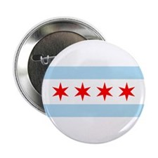 Chicago Flag Button