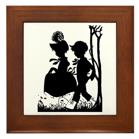 Young Love Framed Tile