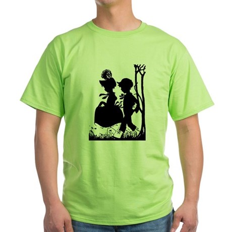Young Love Green T-Shirt