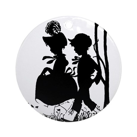 Young Love Ornament (Round)