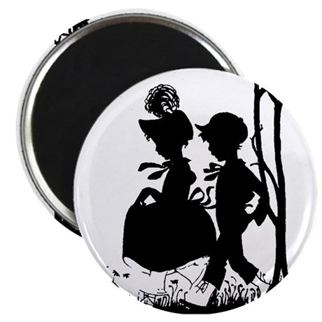 "Young Love 2.25"" Magnet (100 pack)"
