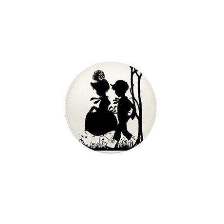 Young Love Mini Button (100 pack)