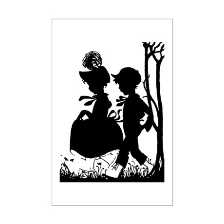 Young Love Mini Poster Print