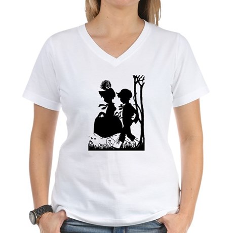 Young Love Women's V-Neck T-Shirt