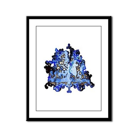 Dance to the Piper Framed Panel Print