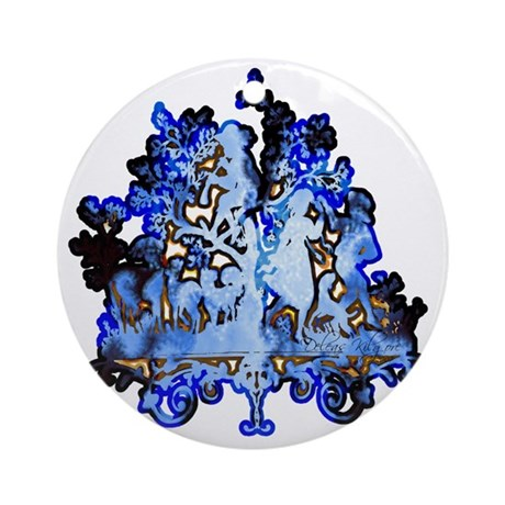 Dance to the Piper Ornament (Round)