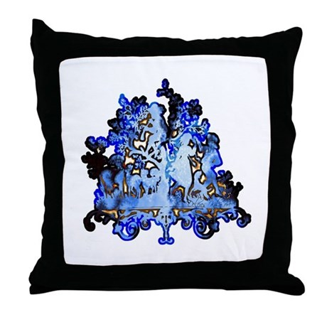 Dance to the Piper Throw Pillow