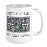 Large Saint Michael Mug