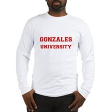 GONZALES UNIVERSITY Long Sleeve T-Shirt