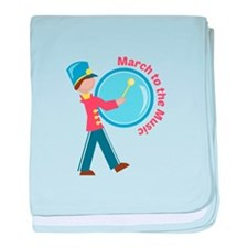 March To The Music baby blanket