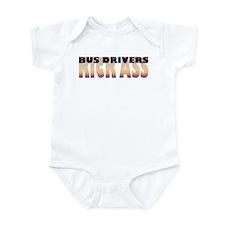 Bus Drivers Kick Ass Infant Bodysuit