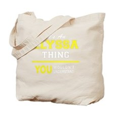 Unique Elyssa's Tote Bag