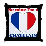 Chatelain, Valentine's Day Throw Pillow