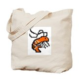 Shrimp of Victory Tote Bag