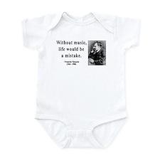 Nietzsche 22 Infant Bodysuit
