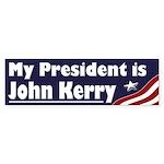 My President is John Kerry (bumper sticker)